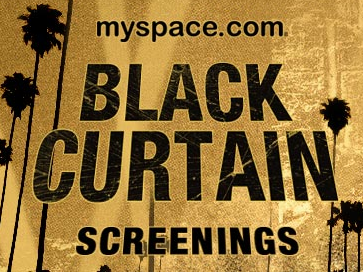 Black curtain screenings